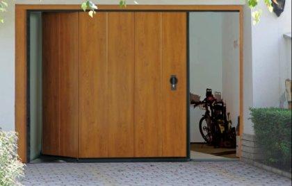 Porte da garage - SEZIONALE LATERALE