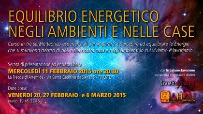 EQUILIBRIO ENERGETICO NEGLI AMBIENTI E NELLE CASE