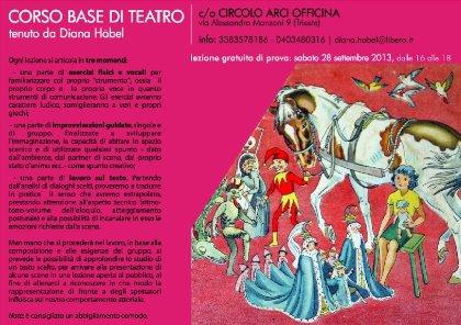 CORSI DI TEATRO BASE e AVANZATO 2013-2014