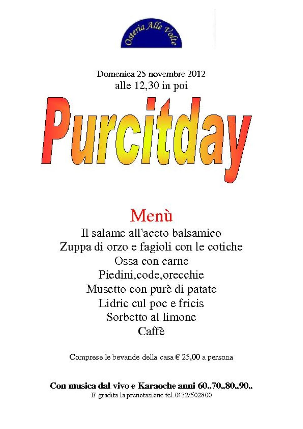 Purcitday
