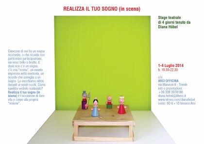 """Stage di teatro """"REALIZZA IL TUO SOGNO (in scena)"""""""