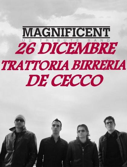 MAGNIFICENT U2 TRIBUTE BAND!