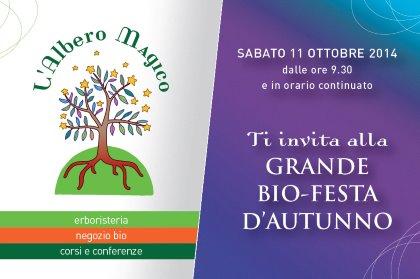 GRANDE BIO FESTA D'AUTUNNO