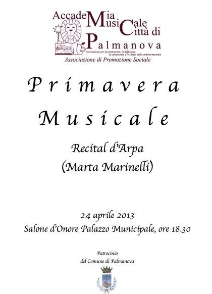 Recital d'Arpa