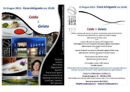 CALDO & GELATO