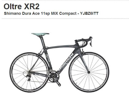 BIANCHI: Oltre XR2 Shimano Dura Ace 11sp MIX Compact
