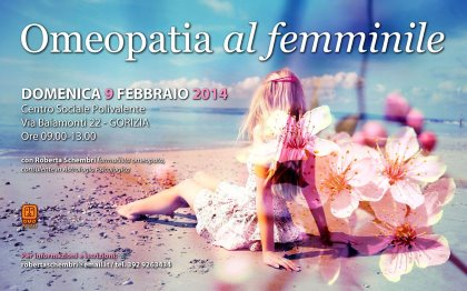 OMEOPATIA AL FEMMINILE - Seminario