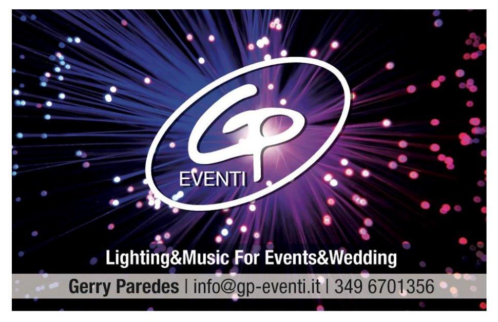 Sorprese e momenti di spettacolo con GP EVENTI Music & Lighting for Events & Wedding.