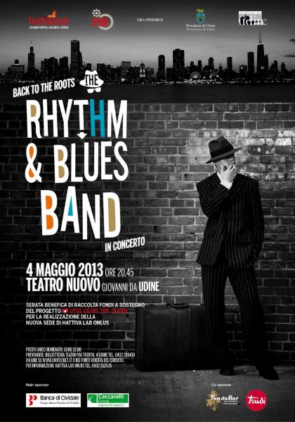 "Rhythm & Blues Band in concerto: ""Back to the roots""!"