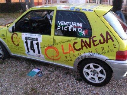 La Caveja al Rally Cividale-Castelmonte