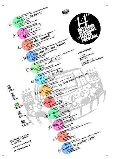 14° Rassegna Regionale di Teatro Popolare