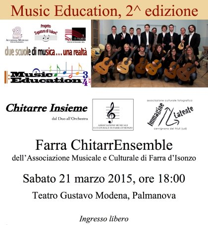 Chitarre Insieme, dal Duo all'Orchestra
