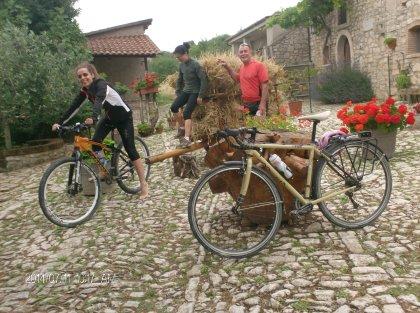 Offerta escursioni MtB e cicloturismo - (Itinerario d'arte agricola e Paesaggio come appunti di viaggio)
