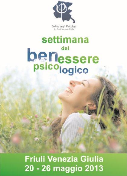 Settimana del Benessere Psicologico in Friuli Venezia Giulia