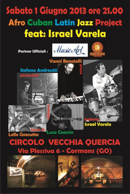 Concerto Afro Cuban Latin Jazz Project Feat: Israel Varela
