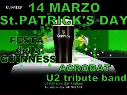 ST.PATRICK'S DAY@ACROBAT U2 TRIBUTE BAND