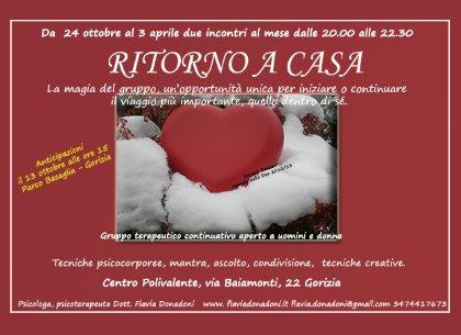RITORNO A CASA - Gruppo terapeutico