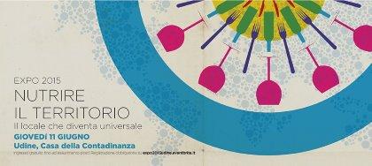 """Giovedì 11 Giugno: Partecipa anche tu all'evento """"NUTRIRE IL TERRITORIO. Il locale che diventa universale"""""""