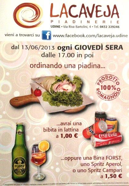 Giovedì 100% ROMAGNOLO a La Caveja!!