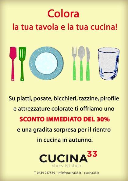Colora la tua tavola e la tua cucina!