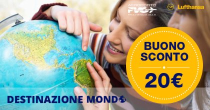 Destinazione Mondo - Vola a Monaco con 20 € di sconto
