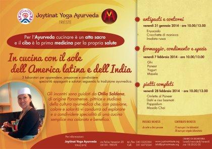 In cucina con il sole dell'America latina e dell'India