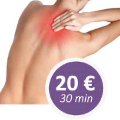 Promozione massaggio decontratturante