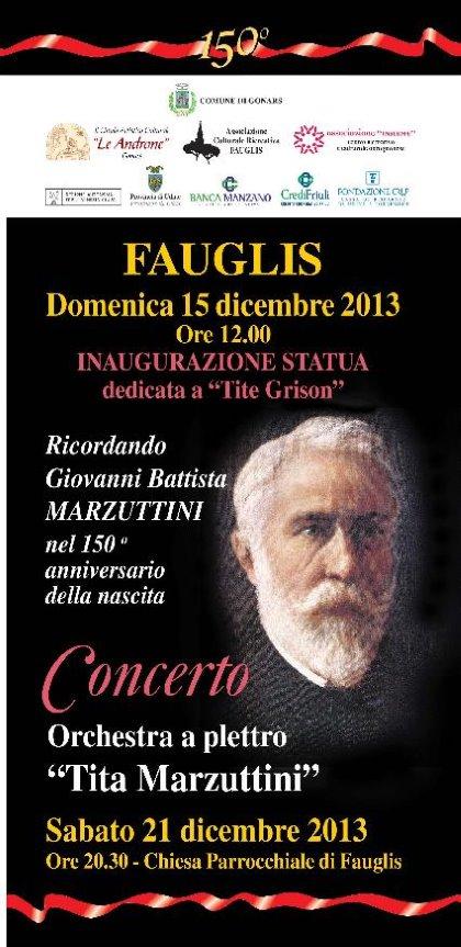 Ricordando Giovanni Battista Marzuttini nel 150° anniversario dalla nascita