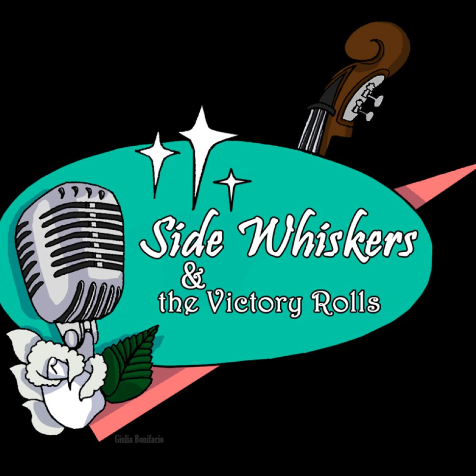 GRUPPO MUSICALE  Side Whiskers & the Victory Rolls - Rockabilly & Rock n' Roll   Band