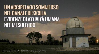 Un arcipelago sommerso nel Canale di Sicilia: evidenze di attività umana nel Mesolitico