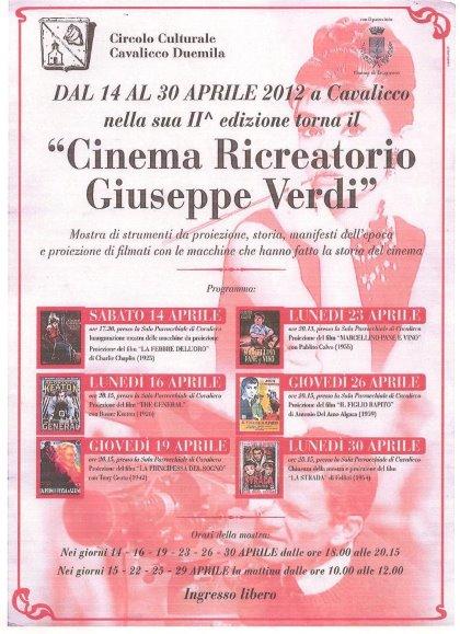 cinema ricreatorio Giuseppe Verdi  a Cavalicco