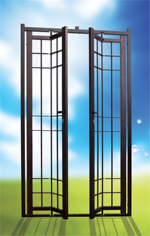 Grate di sicurezza fisse apribili e snodate - Grate fisse per finestre ...