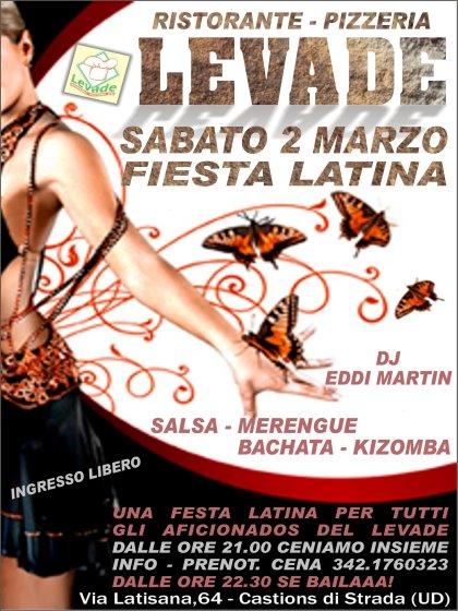 Fiesta Latina con Eddi Martin