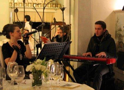 I venerdì del Paradiso: Crostacei e il duo Nicoletta&Emanuele
