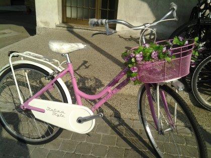 bici da donna stile romantico