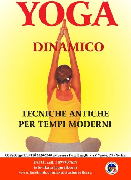 """Presentazione del corso di """"Yoga dinamico"""""""