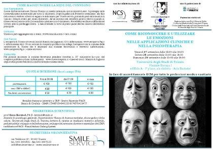 Come riconoscere e utilizzare le emozioni nelle applicazioni cliniche e nella psicoterapia
