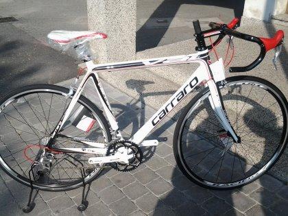 bici da corsa mod. D'Ambiez colore white/red