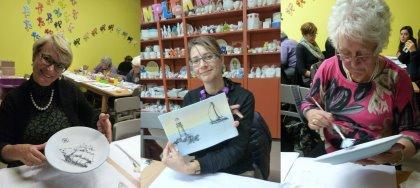 Venerdì sera vieni a ceramicare! Per Carnevale, dipingi e crea con noi.