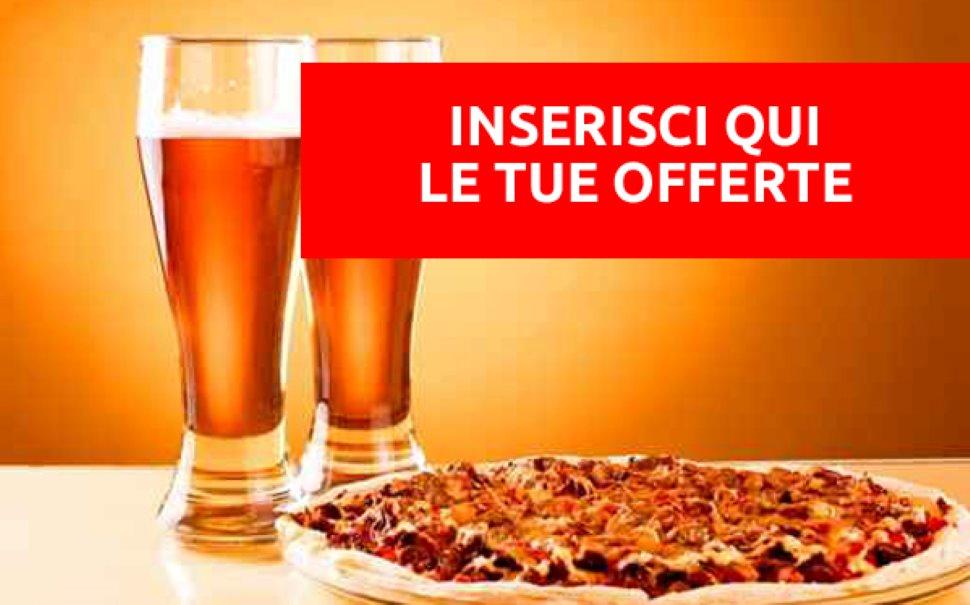 Settimana della PIZZA FARCITA. Birra (o bibita) in OMAGGIO!