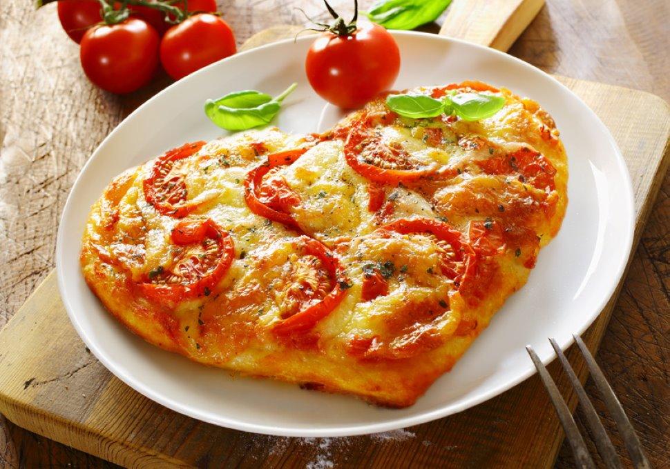 Pizza a cuore per un romantico San Valentino