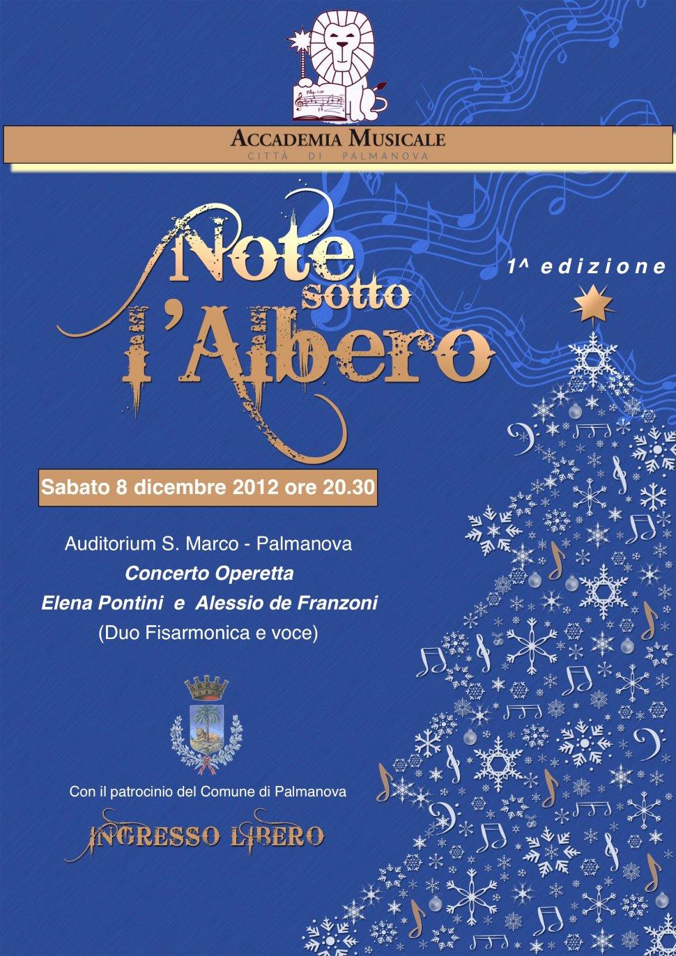 Note sotto l'Albero - Concerto Operetta