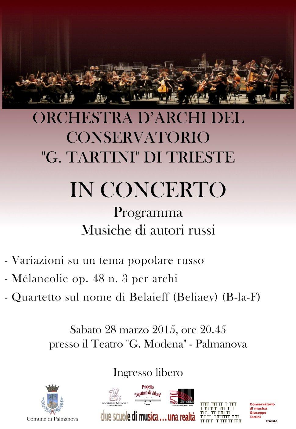 Orchestra d'archi del Conservatorio G. Tartini di Trieste