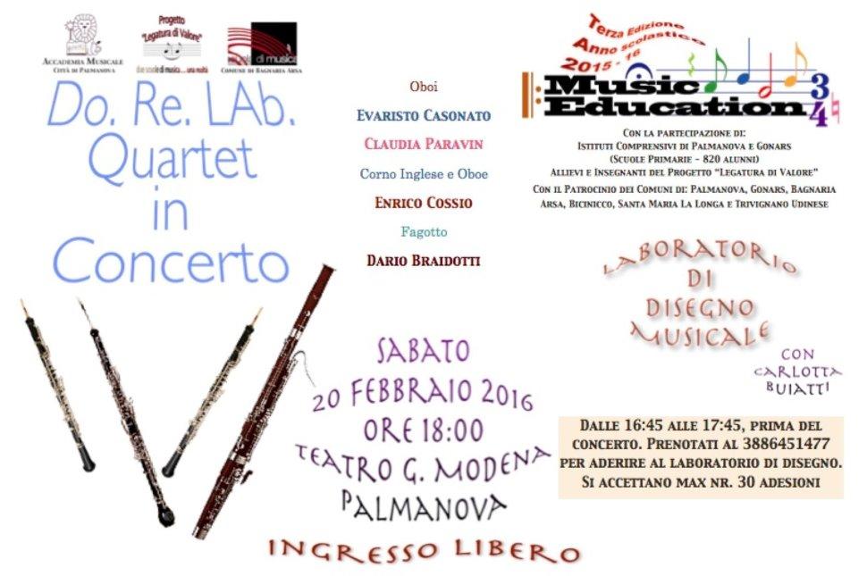 DORELAb Quartet in Concerto