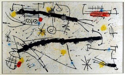 Miró in tre città della Puglia con 'Quelques Fleurs pour des Amis'
