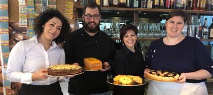Torte, biscotti, crostate, da gustare da noi o in famiglia. Vieni a scoprire le nostre dolcezze fatte in casa e ordinale per tue ricorrenze.