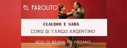 Presentazione dei Corsi di Tango Argentino - Reana del Rojale ed Orzano