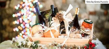 Festeggia il Natale con i cesti della Fattoria di Pavia: confezioni regalo con i nostri prodotti a km0