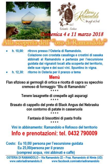 OSTERIA DI RAMANDOLO - Nimis