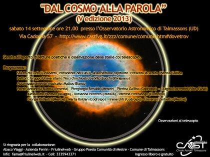 Circolo Astrofili Talmassons - Talmassons